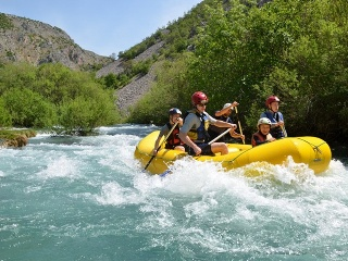 Rafting-Tour ab Split