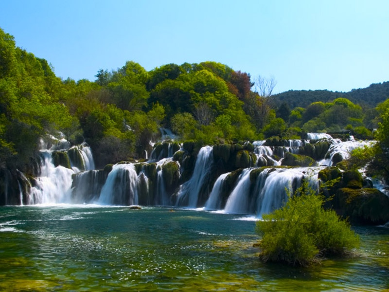 Day Excursions From Split To National Park Krka Visiting