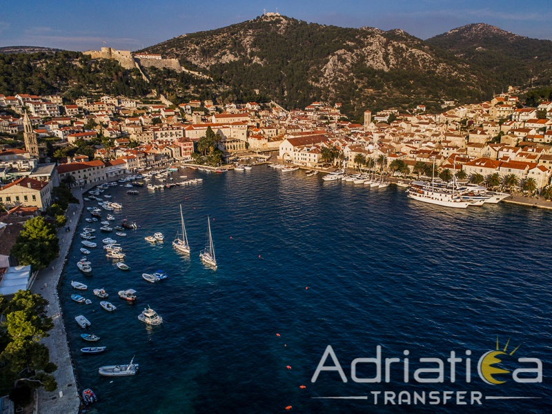 Split to hvar tour